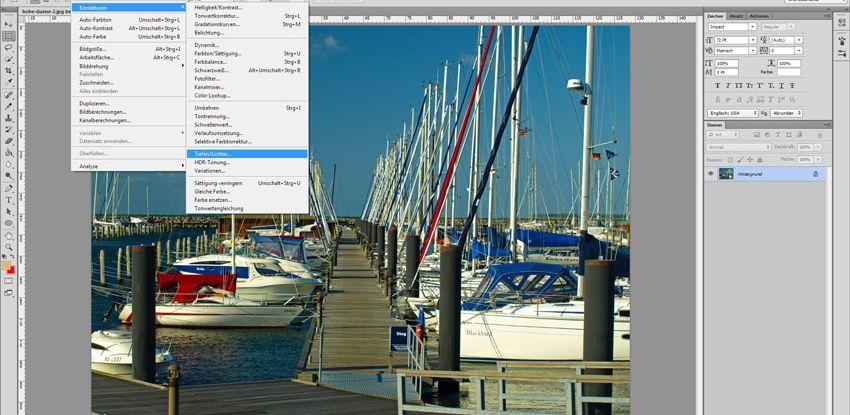 """Digitale Bildbearbeitung mit Photoshop – """"Weniger ist mehr"""""""